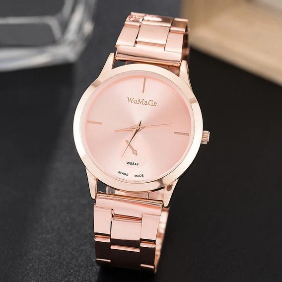 Relógio Feminino Womage Rose