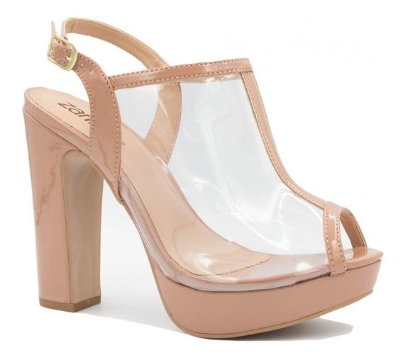 Sandália Zariff Shoes Salto Alto Fivela 940243