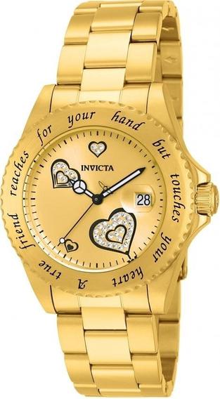 Relógio Invicta Angel 14733 Feminino Original
