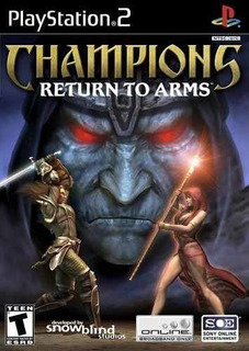 Champions Return To Arms - Playstation 2