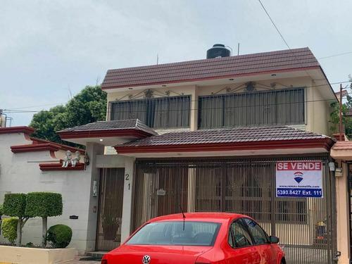Casa En Venta Ciudad Satelite, Con Vigilancia