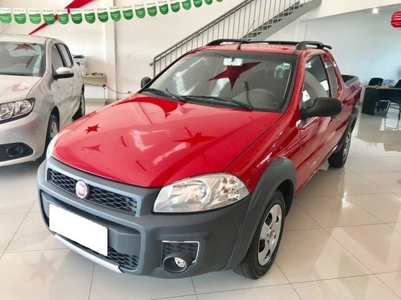 Fiat Strada Working 1.4 Ce Vermelha Flex 2p Manual 2015