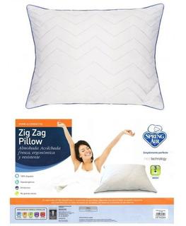 Almohada Spring Air Zig Zag Pillow Estandar