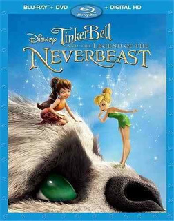 Blu-ray : Tinker Bell And The Legend Of The Neverbeast (...