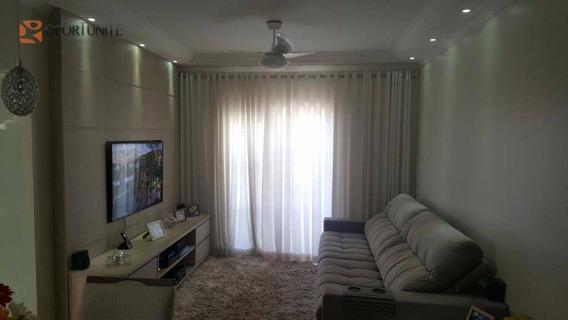 Apartamento Residencial À Venda, Residencial E Comercial Palmares, Ribeirão Preto. - Ap0810