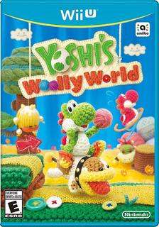 Yoshi Wooly World+ Pack De 130 Juegos Digitales Wii U
