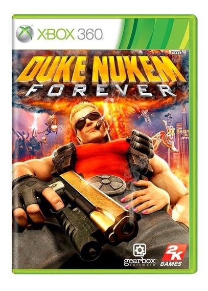 Duke Nukem Forever Xbox 360 Mídia Física Pronta Entrega