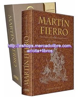 Libro: Martin Fierro - Nueva Edición De Lujo - Grupo Clasa