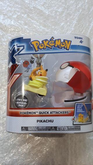 Kit Pokemon Quick Attackers Pikachu + Fennekin Feunnec +brin