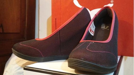 Zapatos Puma Tipo Botita Talle Uk 4 23 Cm