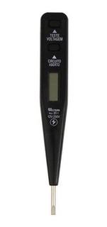 Chave Para Teste De Voltagem Digital Dt-1 Western - Preto