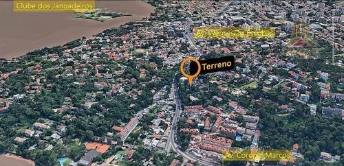 Imagem 1 de 7 de Terreno Com Duas Frentes Próximo A Avenida Wenceslau Escobar - Te0178