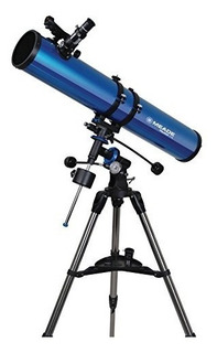 Meade Instruments 216004 Polaris 114 Eq Reflector Telescope