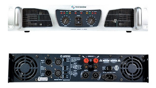 Amplificador De Potencia American Pro Concert 2600 2600w