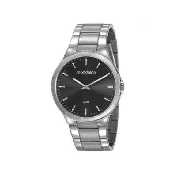 Relógio Mondaine Masculino Prata 53714g0mvna3