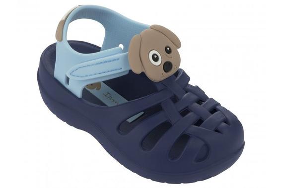 Sandalia Ipanema Summer Baby Ff Azul / Azul