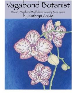 Vagabundo Botánico Adulto Libro Para Colorear Vagabundo Ate