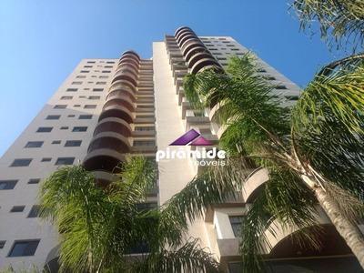 Apartamento Com 4 Dormitórios Para Alugar, 178 M² Por R$ 2.000/mês - Vila Ema - São José Dos Campos/sp - Ap9567