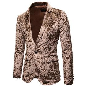 Blazer Casual Masculina Slim Fit Elegante Outono Inverno