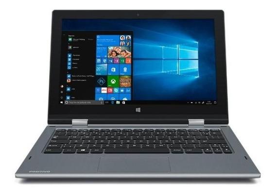 Notebook Positivo 2 Em 1 Zr3630 Celeron 4gb 32gb 11.6 - W10