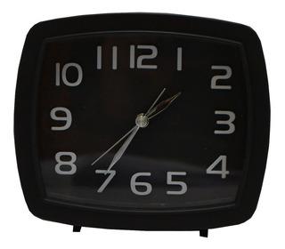 Reloj Despertador Rectangular Colores Varios Deco