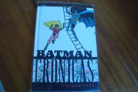 Panini Batman Cronicas Volumne 3 / Carra De Barro Coringa