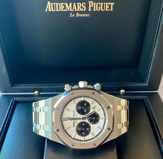 Audemars Piguet Royal Oak Chronograph Panda 41 E Modelo Novo