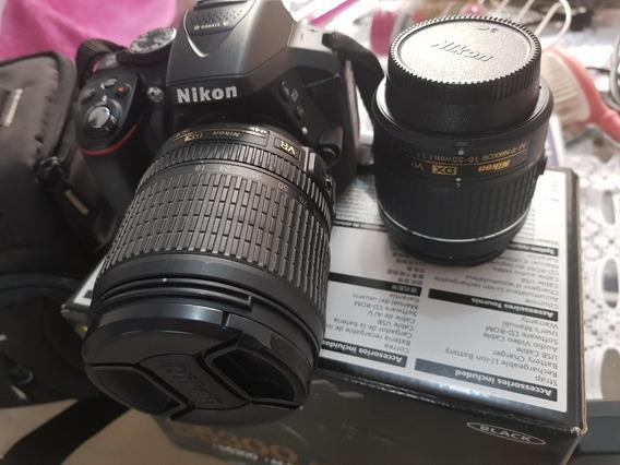 Câmera Nikon D5300 + Sb 700 + 64gb + 2 Lentes