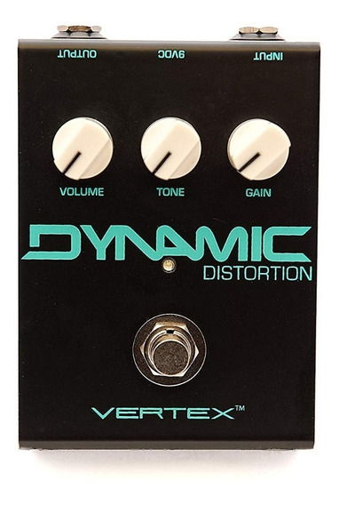 Pedal Vertex Dynamic Distortion C/ Nf-e & Garantia