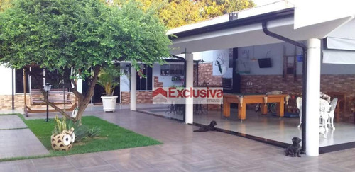 Casa Com 5 Dormitórios À Venda, 280 M² Por R$ 1.180.000,00 - Santa Terezinha - Paulínia/sp - Ca1818