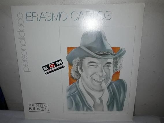 Lp Erasmo Carlos Personalidade + Encarte 1992 Novissímo