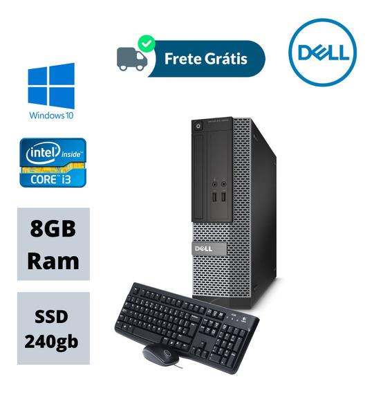 Cpu Desktop 3020 Core I3 3,20ghz 8gb Ram Ssd 240 Win10 Usb