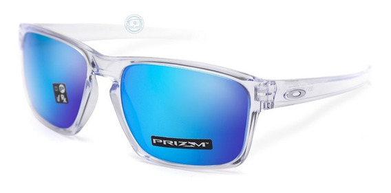Lentes Oakley Sliver Oo9262 47 Clear Prizm Sapphire Iridium