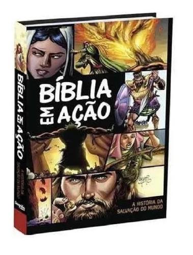 Imagem 1 de 4 de Bíblia Em Ação  Quadrinhos   Capa Dura  Nova Edição