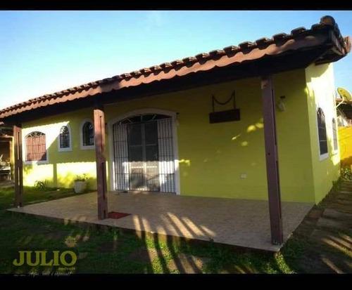 Imagem 1 de 15 de Casa Com 3 Dormitórios À Venda, 127 M² Por R$ 345.000,00 - Parque Marinho - Mongaguá/sp - Ca3797