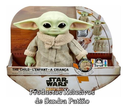 Baby Yoda Animatronico C/control Remoto Grogu Mandalorian