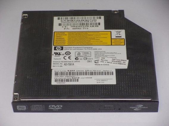 Grabadora Dvd Interna Notebook Hp Ad 7561 A Light-scribe