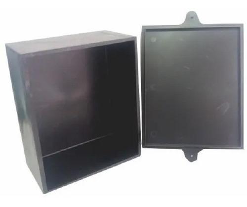 Caja Plastica 18.5 X 15 X 9 Cm Negra Cajp024