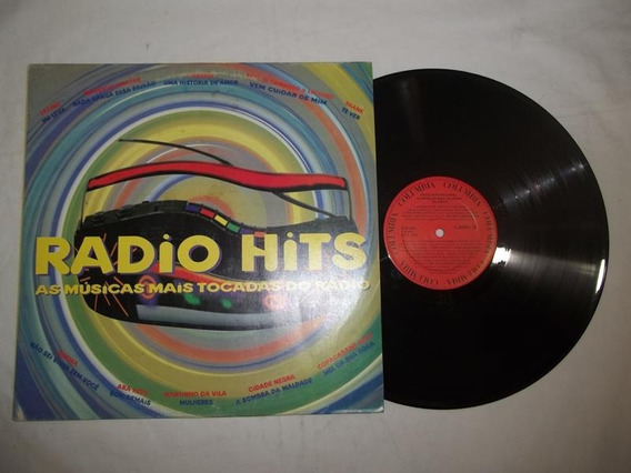 Lp Vinil - Radio Hits - As Músicas Mais Tocadas