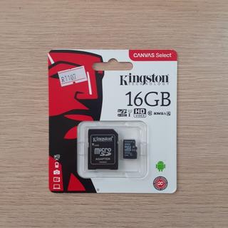 Cartao Memoria Sd Kingston 16gb 80mb/s Ultra