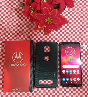Motorola Z3 Play Dual Sim 64 Gb Índigo 4 Gb Ram ( Sem Fone )