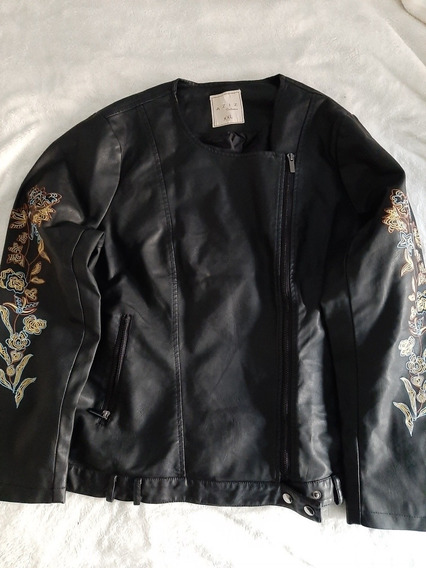 Campera Mujer Ecocuero Xxl Impecable