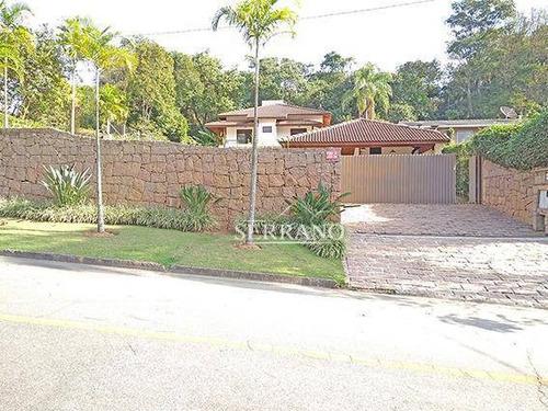 Imagem 1 de 30 de Casa À Venda, 385 M² Por R$ 1.700.000,00 - Condomínio Chácaras Do Lago - Vinhedo/sp - Ca0382