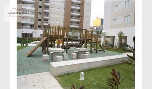 Imagem 1 de 29 de Apartamento Com 3 Dormitórios À Venda, 83 M² Por R$ 615.000,00 - Centro - Guarulhos/sp - Ap0801