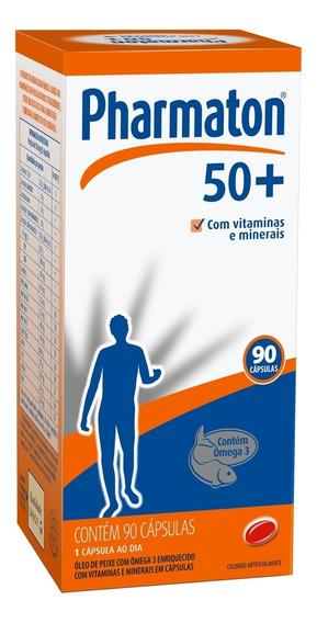 Pharmaton 50+ 90 Capsulas Sanofi