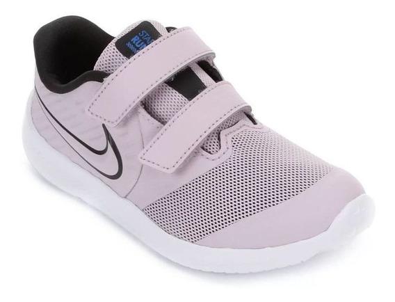 Tênis Nike Star Runner 2 Lilás/branco Original C/nota