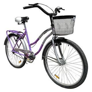 Bicicleta Tomaselli Paseo Dama City26 Lila 86-857