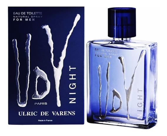 Perfume Ulric De Varens Udv Night 100ml Original N Fiscal