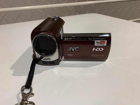 Filmadora Jvc 60 Gb 40xhdd Everio Vermelha