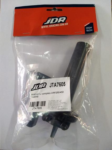 Acelerador Completo Jdr Crf 250/450 Todas